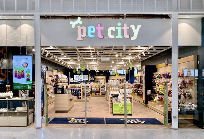 Naujas M dydžio PetCity centras didžiausiame OUTLET Šiaurės Europoje