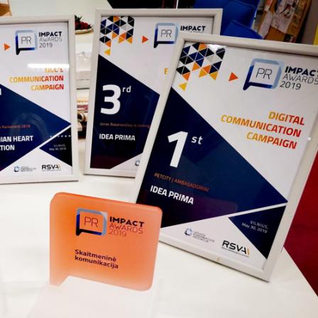 """""""PetCity Ambasadoriai"""" laimėjo pirmą vietą """"PR Impact awards"""" rinkimuose"""